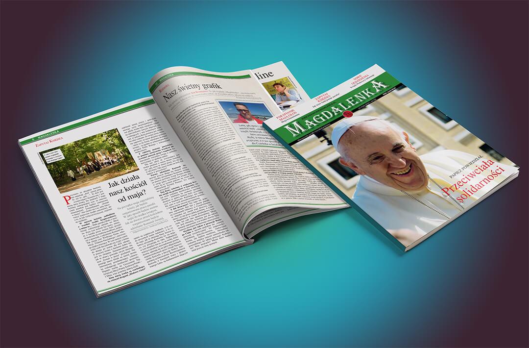page4you.pl andrzej sobaniec cover miesięcznik magdalenka